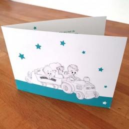 maud-van-deursen-guido-de gooijer-geboortekaartje-lijntekening-design