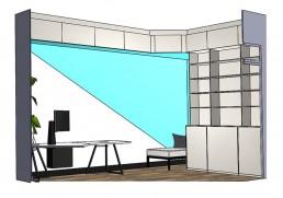 3D tekening-interieur-thuiswerkplek